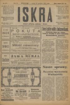 Iskra : dziennik polityczny, społeczny i literacki. R.10, № 293 (27 grudnia 1919) + dod.
