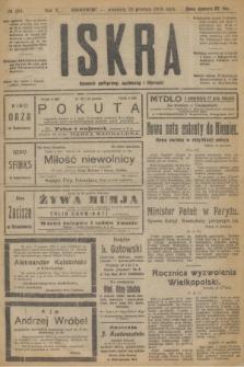 Iskra : dziennik polityczny, społeczny i literacki. R.10, № 294 (28 grudnia 1919)