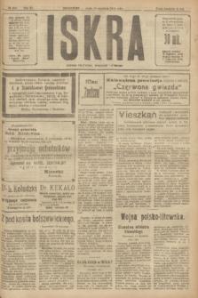 Iskra : dziennik polityczny, społeczny i literacki. R.11, № 290 (15 września 1920)