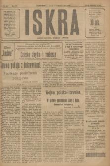 Iskra : dziennik polityczny, społeczny i literacki. R.11, № 298 (24 września 1920)