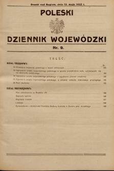 Poleski Dziennik Wojewódzki. 1932, nr9