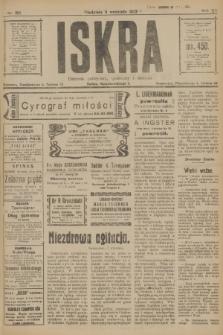 Iskra : dziennik polityczny, społeczny i literacki. R.12 [i.e.13], nr 196 (3 września 1922)