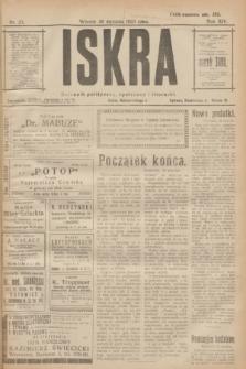 Iskra : dziennik polityczny, społeczny i literacki. R.14, nr 23 (30 stycznia 1923)