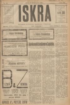Iskra : dziennik polityczny, społeczny i literacki. R.14, nr 35 (14 lutego 1923)