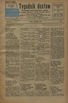 Tygodnik dostaw : pismo poświęcone polskiemu dostawnictwu i odbudowie. R.15, nr 7 (16 lutego 1923)