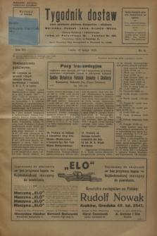 Tygodnik dostaw : pismo poświęcone polskiemu dostawnictwu i odbudowie. R.15, nr 8 (22 lutego 1923)