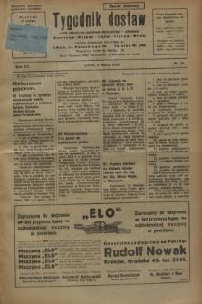 Tygodnik dostaw : pismo poświęcone polskiemu dostawnictwu i odbudowie. R.15, nr 10 (8 marca 1923)