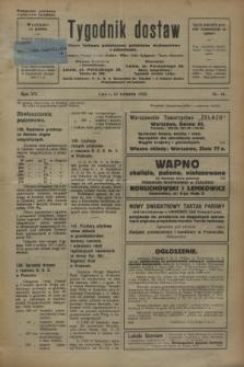 Tygodnik dostaw : pismo fachowe poświęcone polskiemu dostawnictwu i odbudowie. R.15, nr 15 (18 kwietnia 1923)
