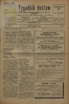 Tygodnik dostaw : pismo fachowe poświęcone polskiemu dostawnictwu i odbudowie. R.15, nr 30 (8 sierpnia 1923)