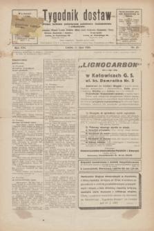 Tygodnik dostaw : pismo fachowe poświęcone polskiemu dostawnictwu i odbudowie. R.16, nr 23 (11 lipca 1924)