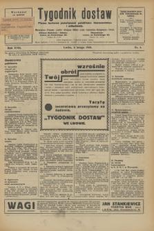 Tygodnik dostaw : pismo fachowe poświęcone polskiemu dostawnictwu i odbudowie. R.18, nr 4 (6 lutego 1926)