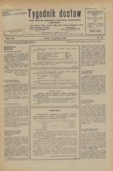 Tygodnik dostaw : pismo fachowe poświęcone polskiemu dostawnictwu i odbudowie. R.19, nr 35 (13 grudnia 1927)
