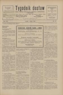 Tygodnik dostaw : pismo fachowe poświęcone polskiemu dostawnictwu i odbudowie. R.21, nr 19 (1 lipca 1929)