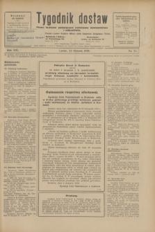 Tygodnik dostaw : pismo fachowe poświęcone polskiemu dostawnictwu i odbudowie. R.21, nr 24 (23 sierpnia 1929)