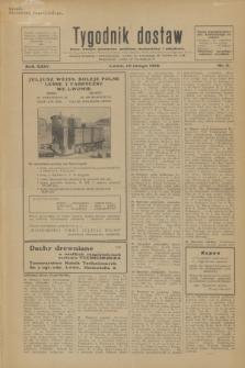 Tygodnik dostaw : pismo fachowe poświęcone polskiemu dostawnictwu i odbudowie. R.24, nr 3 (10 lutego 1932)