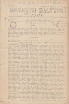 """Biuletyn Bałtycki Wilbi : podaje wiadomości bieżące z Łotwy oraz perjodyczne z Estonji i Finlandji : dodatek do """"Biuletynu Kowieńskiego"""". 1932, nr 15 (5 stycznia)"""