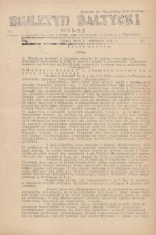 """Biuletyn Bałtycki Wilbi : podaje wiadomości bieżące z Łotwy oraz perjodyczne z Estonji i Finlandji : dodatek do """"Biuletynu Kowieńskiego"""". 1932, nr 16 (9 stycznia)"""