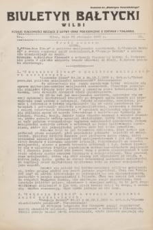 """Biuletyn Bałtycki Wilbi : podaje wiadomości bieżące z Łotwy oraz perjodyczne z Estonji i Finlandji : dodatek do """"Biuletynu Kowieńskiego"""". 1932, nr 20 (23 stycznia)"""