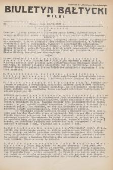 """Biuletyn Bałtycki Wilbi : dodatek do """"Biuletynu Kowieńskiego"""". 1932, nr 54 (22 czerwca)"""