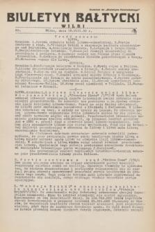 """Biuletyn Bałtycki Wilbi : dodatek do """"Biuletynu Kowieńskiego"""". 1932, nr 63 (18 sierpnia)"""