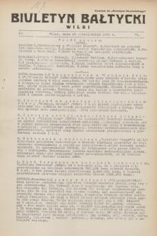 """Biuletyn Bałtycki Wilbi : dodatek do """"Biuletynu Kowieńskiego"""". 1932, nr 74 (12 października)"""