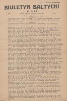 """Biuletyn Bałtycki Wilbi : dodatek do """"Biuletynu Kowieńskiego"""". 1935, nr 254 (8 stycznia)"""