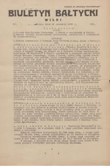 """Biuletyn Bałtycki Wilbi : dodatek do """"Biuletynu Kowieńskiego"""". 1935, nr 256 (12 stycznia)"""