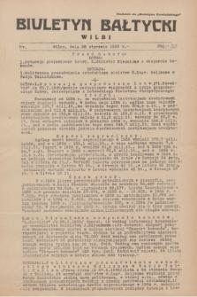 """Biuletyn Bałtycki Wilbi : dodatek do """"Biuletynu Kowieńskiego"""". 1935, nr 261 (28 stycznia)"""