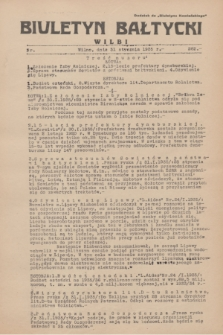"""Biuletyn Bałtycki Wilbi : dodatek do """"Biuletynu Kowieńskiego"""". 1935, nr 262 (31 stycznia)"""