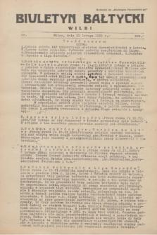 """Biuletyn Bałtycki Wilbi : dodatek do """"Biuletynu Kowieńskiego"""". 1935, nr 266 (11 lutego)"""