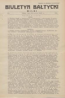 """Biuletyn Bałtycki Wilbi : dodatek do """"Biuletynu Kowieńskiego"""". 1935, nr 269 (23 lutego)"""