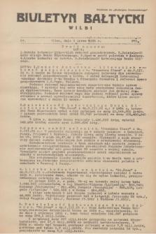 """Biuletyn Bałtycki Wilbi : dodatek do """"Biuletynu Kowieńskiego"""". 1935, nr 273 (6 marca)"""