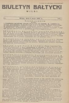 """Biuletyn Bałtycki Wilbi : dodatek do """"Biuletynu Kowieńskiego"""". 1935, nr 288 (6 maja)"""