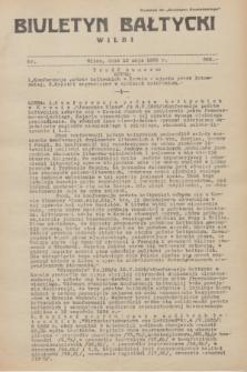 """Biuletyn Bałtycki Wilbi : dodatek do """"Biuletynu Kowieńskiego"""". 1935, nr 289 (10 maja)"""