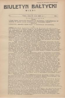 """Biuletyn Bałtycki Wilbi : dodatek do """"Biuletynu Kowieńskiego"""". 1935, nr 290 (14 maja)"""