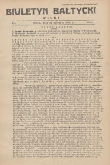 """Biuletyn Bałtycki Wilbi : dodatek do """"Biuletynu Kowieńskiego"""". 1935, nr 306 (21 sierpnia)"""