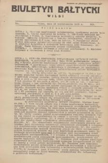 """Biuletyn Bałtycki Wilbi : dodatek do """"Biuletynu Kowieńskiego"""". 1935, nr 313 (16 października)"""