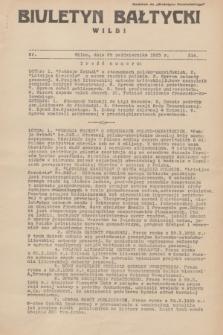 """Biuletyn Bałtycki Wilbi : dodatek do """"Biuletynu Kowieńskiego"""". 1935, nr 314 (25 października)"""