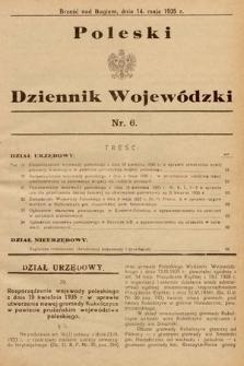 Poleski Dziennik Wojewódzki. 1935, nr6