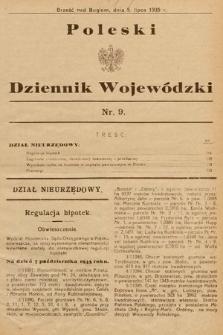 Poleski Dziennik Wojewódzki. 1935, nr9