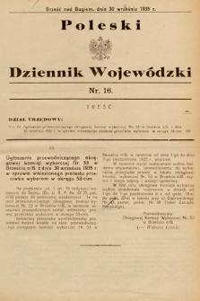 Poleski Dziennik Wojewódzki. 1935, nr16