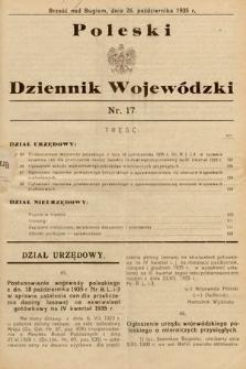 Poleski Dziennik Wojewódzki. 1935, nr17