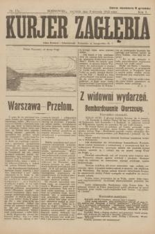 Kurjer Zagłębia. R.10, nr 179 (8 sierpnia 1915) + dod.