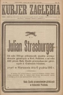 Kurjer Zagłębia. R.11, nr 280 (12 grudnia 1916)
