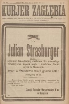 Kurjer Zagłębia. R.11, nr 281 (13 grudnia 1916)