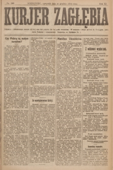 Kurjer Zagłębia. R.11, nr 288 (21 grudnia 1916)