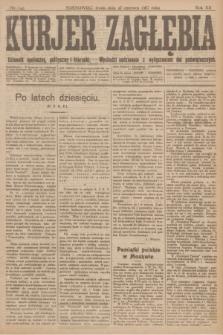 Kurjer Zagłębia : dziennik społeczny, polityczny i literacki. R.12, nr 143 (27 czerwca 1917)