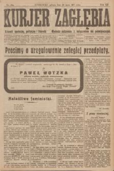 Kurjer Zagłębia : dziennik społeczny, polityczny i literacki. R.12, nr 169 (28 lipca 1917)