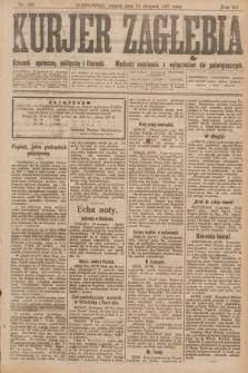 Kurjer Zagłębia : dziennik społeczny, polityczny i literacki. R.12, nr 188 (21 sierpnia 1917)