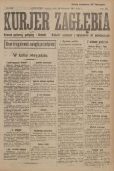 Kurjer Zagłębia : dziennik społeczny, polityczny i literacki. R.12, nr 254 (13 listopada 1917)
